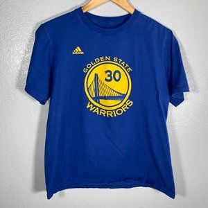 Youth Adidas Golden State Warriors Jersey Tee